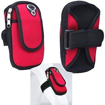 Supercase24 Sport Armband für Kazam Tornado 348 Handy Hülle Tasche Schutzhülle Case Fitness Armtasche
