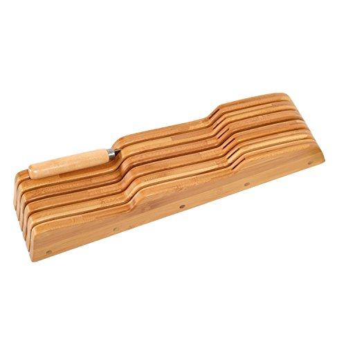 FURINNO Bamboo Drawer Holder Natural