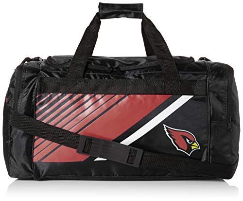 Arizona Cardinals Border Stripe Duffle Bag