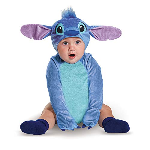 Disguise Baby Stitch Infant Costume, Blue, (6-12 mths)