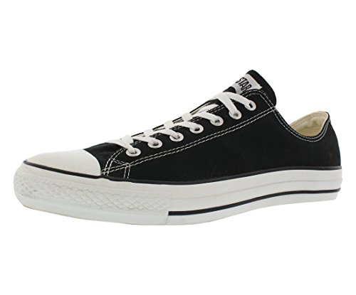 Converse Unisex Chuck Taylor All Star Low Top Black Sneakers - 9.5 B(M) US Women / 7.5 D(M) US Men from Converse