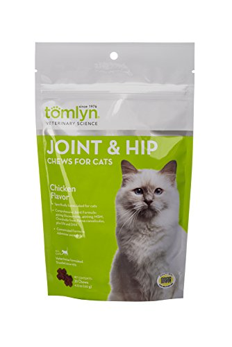 Tomlyn Joint and Hip Chews for Cats, 30 ct