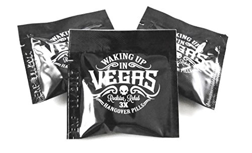 WAKING UP IN VEGAS - Extreme Hangover Protection (3-pack) FREE SHIPPING