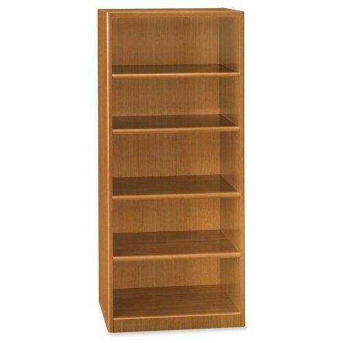 BSHQT3605MC - bbf Quantum QT3605MC Five Shelf Bookcase - Bush Contemporary Bookcase
