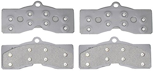 (ACDelco 14D8 Advantage Organic Front Disc Brake Pad Set)