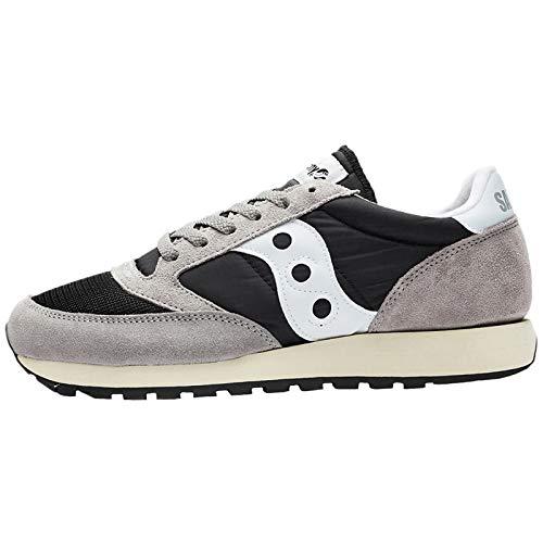 Shoe Saucony Running White Jazz Men's Grey Vintage Originals Black wXrnXqCS