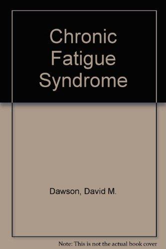 Chronic Fatigue Syndrome (libro en Inglés) - David M. Dawson - Lippincott Williams And Wilkins
