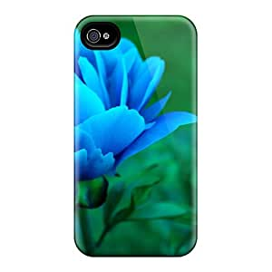 High Quality Hrc8554ozMK Blue Peony Cases For Iphone 6