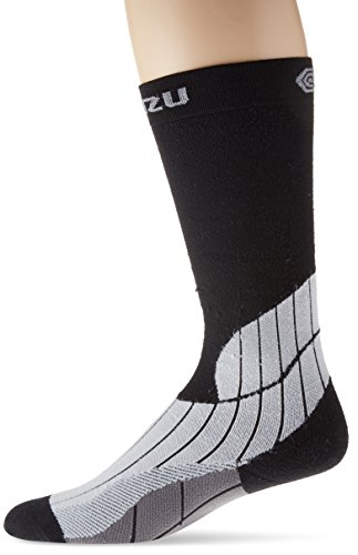 BLITZU Compression Socks 15-20mmHg for Men & Women Best Recovery Performance Stockings for Running, Medical, Athletic, Edema, Diabetic, Varicose Veins, Travel, Pregnancy, Relief Shin Splints, Nursing – DiZiSports Store