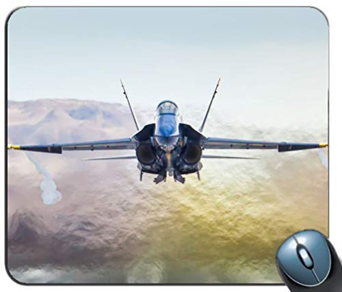 Hornet 18a (Blue Angels California McDonnel Douglas f-18a Hornet Fighter Jet Jets Military Non Slip Rubber Mousepad Gaming Mouse Mat Mouse Pad)
