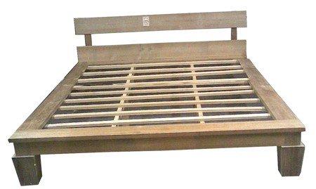 SunTeak Bed für Schlafzimmer aus Teak