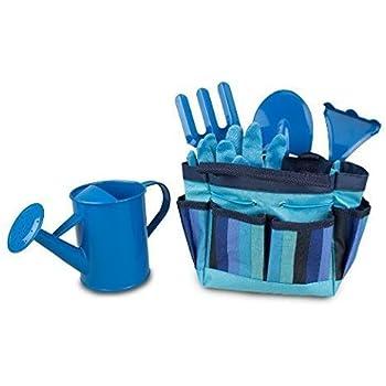 Children's Garden Tool Set - Blue by Gardenline