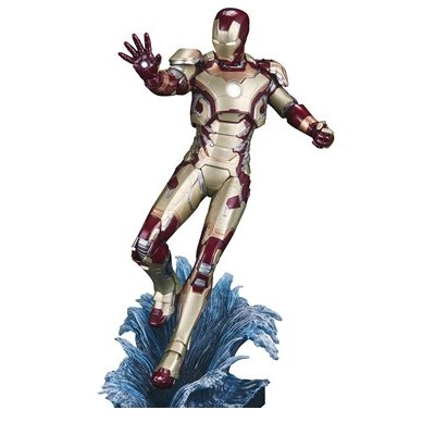 Kotobukiya Iron Man 3 Mark 42 ArtFX + Statue (Iron Mark Iii)