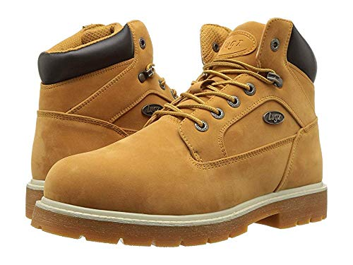 - Lugz Men's Mortar Mid Steel Toe Chukka Boot Golden Wheat/Bark/Cream/Gum 9 D US