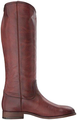 Extended Women's Riding Melissa Boot Button Redwood FRYE Calf Extended Calf 2 fInHwwRq