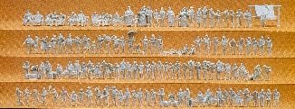 Preiser 79006 Unpainted Figures (125)