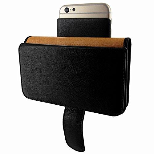 PIELFRAMA 687 Wallet Case Apple iPhone 6 Plus in schwarz