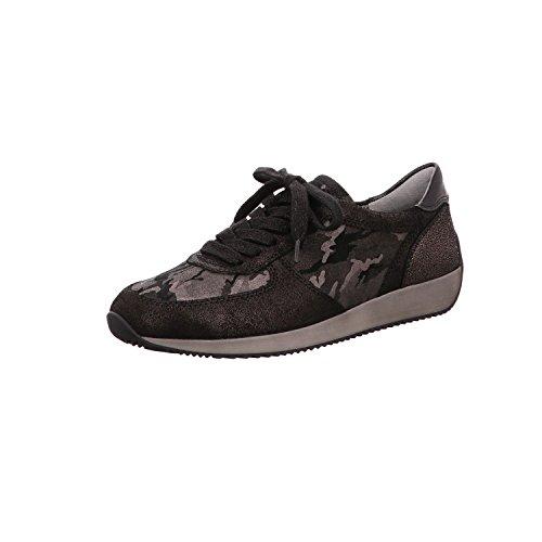 Ara Damer Lissabon Sneaker Sort, Lava