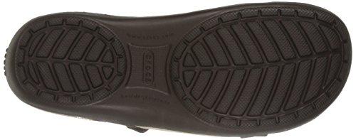 CROCS - ELLA COMFORT PATH Sandal - black Mahogany/Mahogany