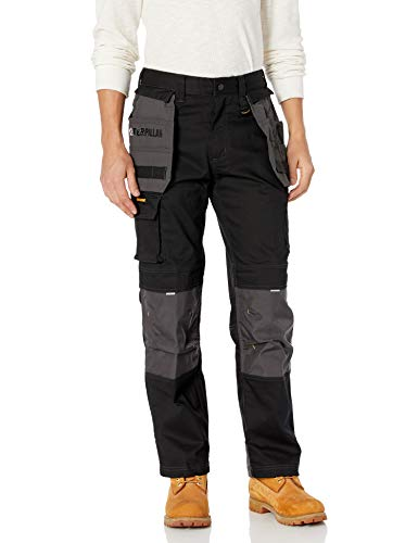 Caterpillar Men's H2O Defender Pant (Regular and Big & Tall Sizes), black/graphite, 36W x 36L (Mens Wallets Caterpillar)