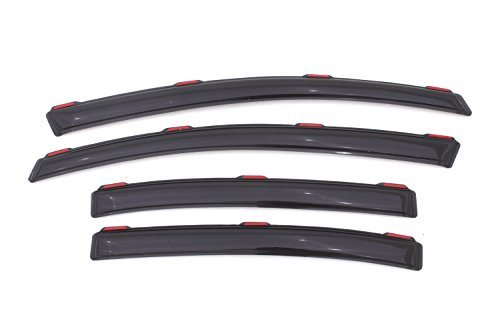 Auto Ventshade 194462 In-Channel Ventvisor Side Window Deflector, 4-Piece Set for 2012-2015 Honda Civic