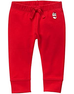 Baby Girls' Red Legging