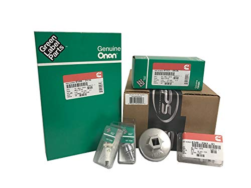 Tune Up Kit for Onan RV Generators 5500 and 7000, HGJAA, HGJAB, and - Oil Filter Pump Fuel