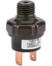 Qiilu 12V Universal Car Automatic Air Compressor Switch Air Pressure Control Switch (90-120PSI)