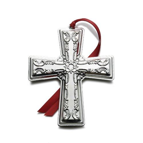 Wallace 2012 Grande Baroque Cross Ornament, 17th Edition