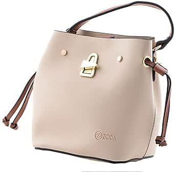 حقيبة يد نسائية صغيرة من قطعتين - ماركة زوبا