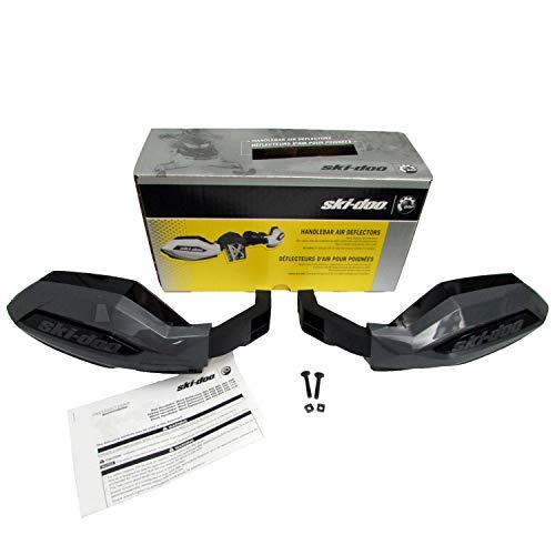 Ski-Doo OEM Hand Guard Handlebar Wind Deflectors Kit - Black 860200712