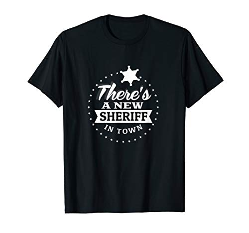 New Sheriff In Town Deputy Cowboy Costume Gift]()