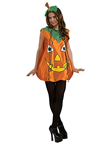 Rubie's Pumpkin Pie Costume, Orange, -