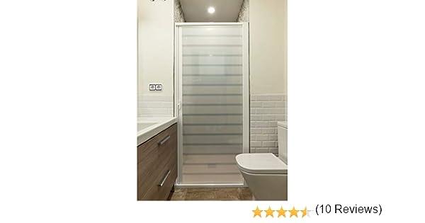 Roll System Mampara Ducha Enrollable. Extensible 90-150 cm Ancho. Puerta Blanca. Aluminio Blanco. Ecológica. Autolimpiable. Marca CE.: Amazon.es: Hogar
