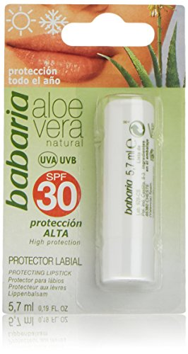 babaria Aloe Vera Sonnen-Lippenbalsam SPF 30 5,7 ml