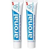 アロナール(ビタミンA配合) 歯磨き粉 75ml 2Pack (elmex aronal toothpaste 75ml X 2) [並行輸入品]