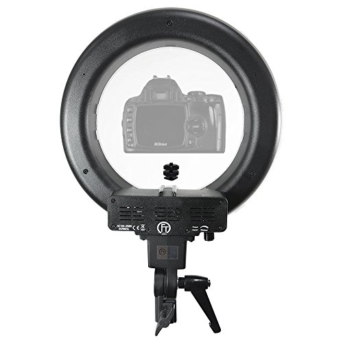 Ring Camera Light Youtube: LimoStudio 12 Inch Diameter Dimmable Continuous Round LED