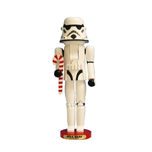 Kurt Adler Steinbach Star Wars Storm Trooper Nutcracker by Kurt Adler