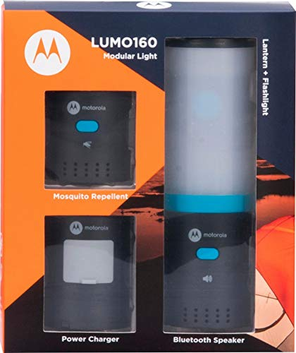 Motorola Hybrid Lantern Kit LUMO160 Modular Light Bluetooth Speaker MSL160TP