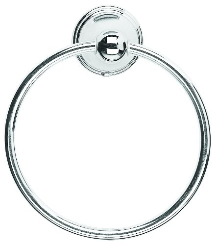 Croydex Westminster Towel Ring, Chrome QM201541 Bathroom Fittings Bathroom_Accessories Bathroom_Storage