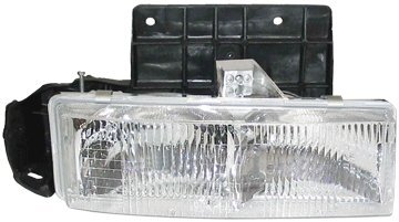 Aftermarket Replacement Composite Headlight Headlamp Assembly Clear Lens Front Passenger Side Right RH