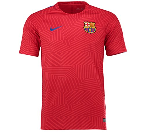 Nike FC Barcelona Youth Pre-Match Jersey Gx-UNIVERSITY RED (M)