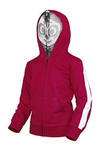AmzBarley Boys' Miguel Costume Zip Up Character Hoodie With Mesh Mask Age 11-12 Years Size 12