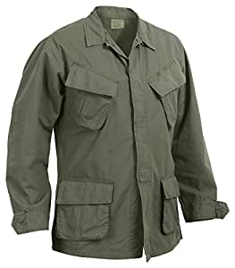 Rothco R/S Vintage Vietnam Fatigue Shirt, Olive Drab, 2X