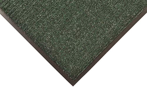 Notrax 109 Brush Step Entrance Mat, for Home or Office, 3' x 6', Hunter Green