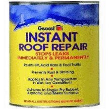 Geocel Limited 25303 Instant Roof Repair Black, Gallon