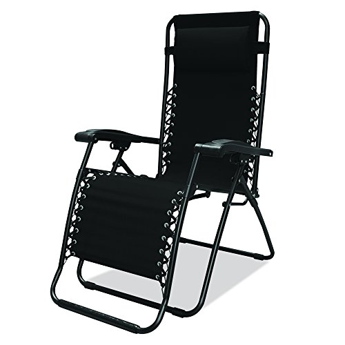 Caravan Sports Infinity Zero Gravity Chair Black
