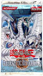 - Yugioh Card Game - Cybernetic Revolution 1ST EDITION Booster Pack - 9C