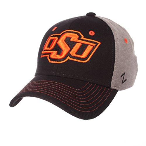 Zephyr NCAA Oklahoma State Cowboys Men's Duo Hat, Medium/Large, Black/Gray ()