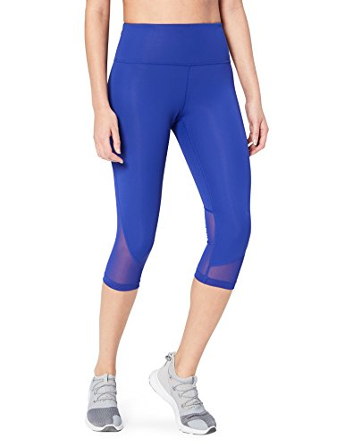Core 10 Women's Race Day High Waist Run Mesh Capri Legging - 19